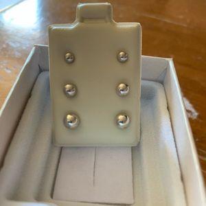 Ladies Sterling Silver Earrings